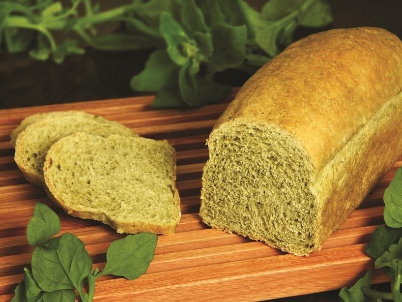 Pão de espinafre fácil